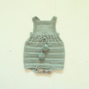 Strikdet Billie Baby Romper