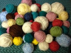 Lots of mystery yarns